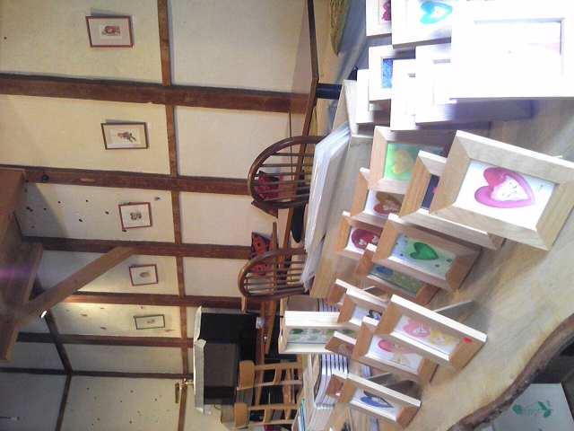 明日から空色曲玉さんの個展、はじまります。